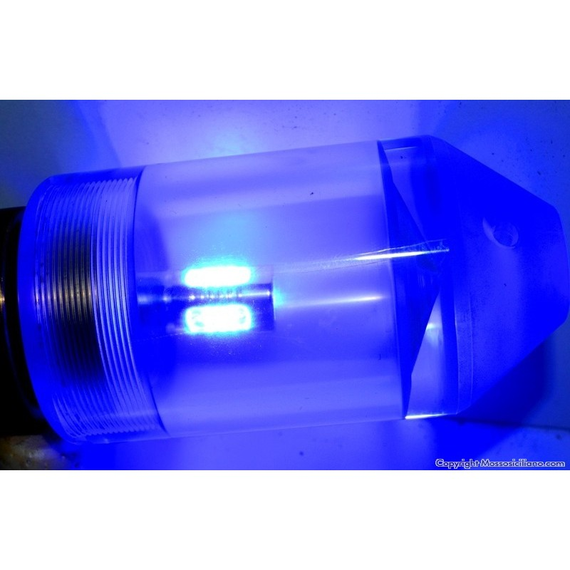 Lampadina mini led blu mossosiciliano artificiali da pesca for Lampadina led blu