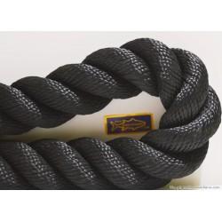 Corda nera passamani decorazione  mm.38