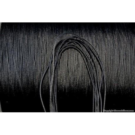 Trecciolina nera mm.1 pes 100% ht -dynem